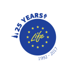 logo life 25y transparante achtergrond